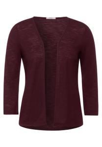 Open shirtjasje - red grape