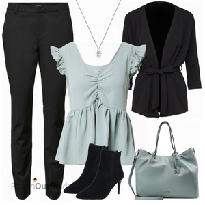 Mint Businessoutfit FrauenOutfits.de