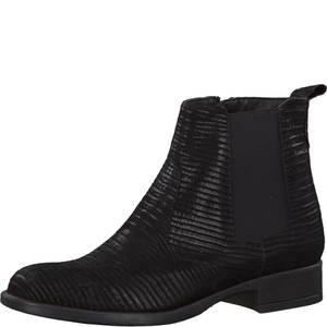 TAMARIS Chelsea Boots schwarz