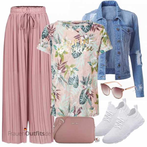 Buntes Sommer Outfit FrauenOutfits.de
