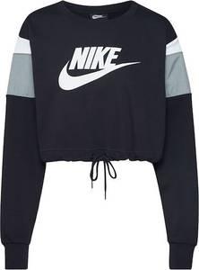 Nike Sportswear Sweatshirt schwarz / pastellblau / weiß
