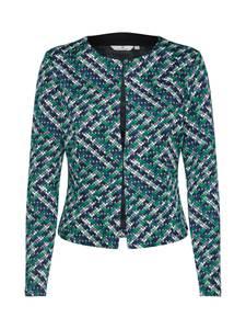 TOM TAILOR Blazer ''colorful jersey Blazer 1/1'' blau / grün