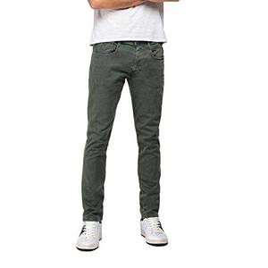 Replay Herren Anbass Jeans, Grün (Military Green 30), W32/L32 (Herstellergröße: 32)