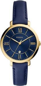 FOSSIL Uhr ''JACQUELINE'' dunkelblau / gold