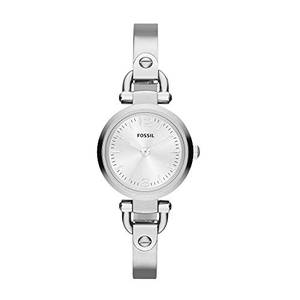 Fossil Damen Analog Quarz Uhr mit Edelstahl Armband ES3269