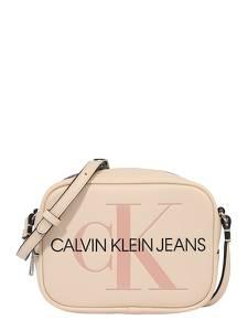 Calvin Klein Jeans Umhängetasche nude / schwarz / rosa