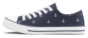 LASCANA Sneaker blau