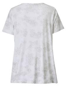 Shirt Sara Lindholm Weiß/Beige