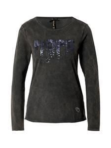 Key Largo Shirt ''HOPEFUL'' khaki / nachtblau