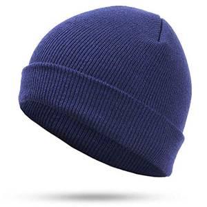 Modische Mütze Hut Winter Damen Strickmützen Mehrfarbig Optional Exquisite Arbeit Einfarbige Baumwolle Bequeme Unisex Outdoor Warm Caps