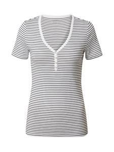 GAP Shirt schwarz / weiß