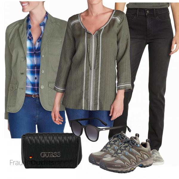 Stilvoller Look für die Freizeit FrauenOutfits.de