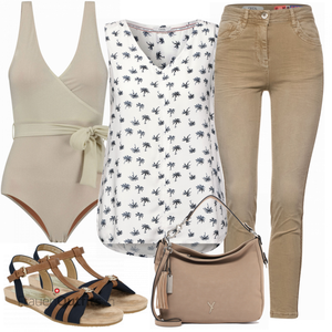 Schickes Sommer Outfit FrauenOutfits.ch