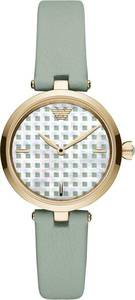 Emporio Armani Uhr ''AR11314'' pastellgrün / gold