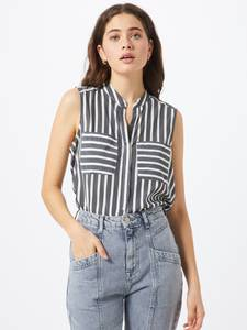 VERO MODA Shirt ''Erika'' schwarz / weiß