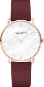 Paul Hewitt Uhr ''Miss Ocean Line'' bordeaux / rosegold