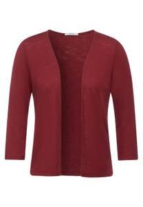 CECIL Damen Offene Shirtjacke in Braun