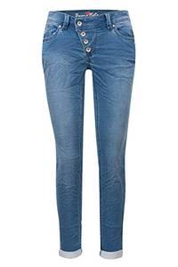 Buena Vista Jeans Malibu Sweat Denim in Blau, Größe S