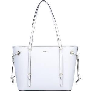 DKNY Patricia Shopper Tasche Leder 31 cm weiß