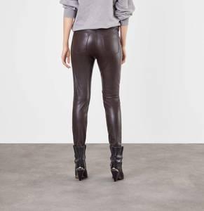 Mac Jeans - Slim Leather Zip, Vegan Leather 0454592900