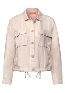 Street One Damen Indoor Jacke mit Taschen in Braun