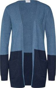 VILA Strickjacke ''VIRIL OPEN KNIT'' hellblau