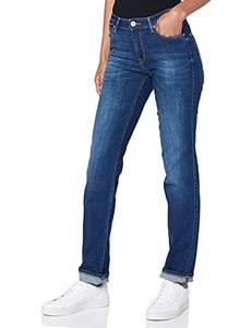 Lee Damen Marion Straight Jeans, Night Sky, 28W / 31L