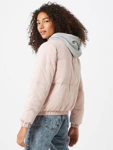 ABOUT YOU Winterjas ''Arika Puffer Jacket''  rosé / grijs