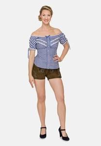 STOCKERPOINT Bluse ''Clio'' blau / weiß