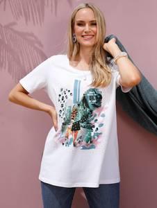 Shirt creme-weiß MIAMODA
