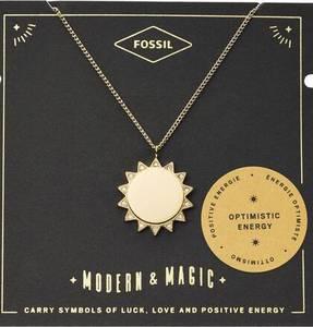 FOSSIL Kette ''SONNE, VINTAGE MOTIFS'' gold