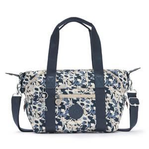 KIPLING Tasche blau / weiß