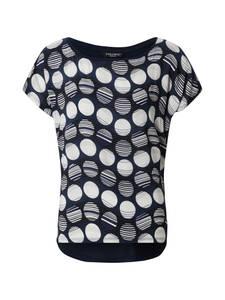 ZABAIONE Shirt Lissy weiß / navy