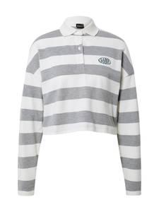 Gina Tricot Shirt ''Macy'' weiß / grau