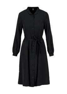 logo woven dress
