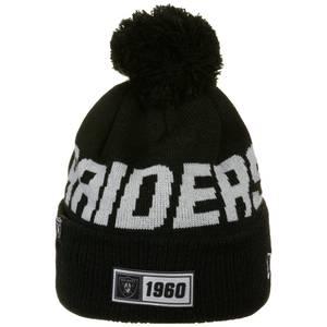 NEW ERA Mütze ''NFL Oakland Raiders'' schwarz / hellgrau