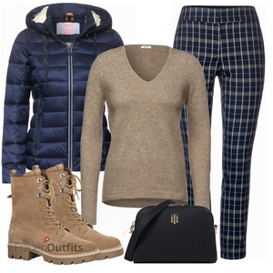 Cooles Winter Outfit FrauenOutfits.ch