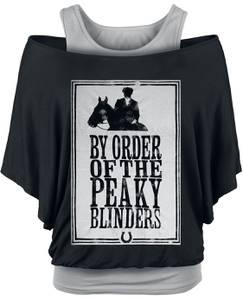 Peaky Blinders - Gangs Of Birmingham Framed T-Shirt