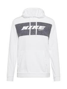 NIKE Sportsweatshirt offwhite / schwarz