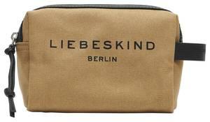Liebeskind Berlin Kosmetiktasche dunkelbeige / schwarz