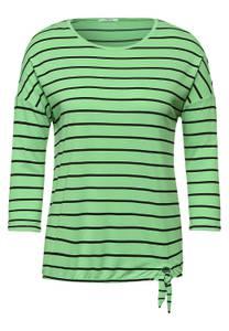 Shirt met knoopdetail - bud green
