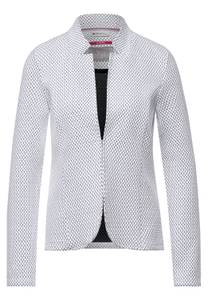 Street One Damen Indoor Jacke mit Struktur in Weiß