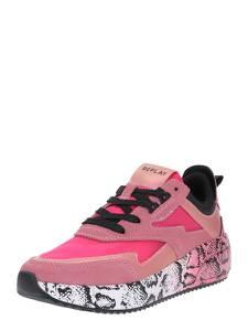 REPLAY Sneaker ''Sierra'' schwarz / pink / altrosa / neonpink