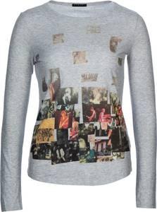 Sisley Fashion Longsleeve in Grau  Größe XS