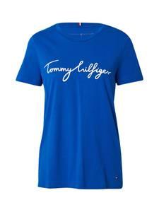 TOMMY HILFIGER Shirt blau / weiß
