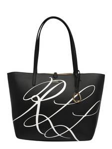 Lauren Ralph Lauren Shopper gold / schwarz / weiß