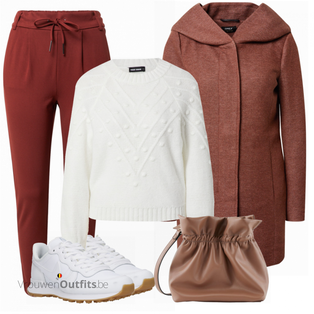 Modieuze winterlook VrouwenOutfits.be