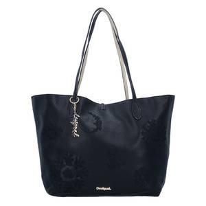 Desigual BOLS Capri Alice Shopper Tasche 30 cm schwarz