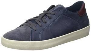 Geox Herren U WARLEY A Sneaker, Navy/AVIO, 43 EU