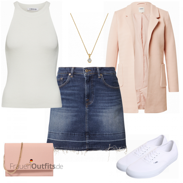 Girly Alltagsoutfit FrauenOutfits.de